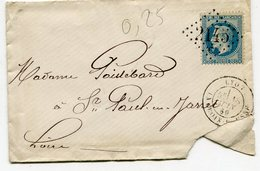RHONE De LYON LA CROIX ROUSSE GC 2145C Sur N°29 Sur Env. De 1869 - 1849-1876: Classic Period