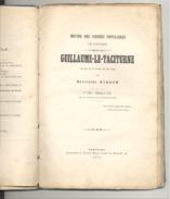"""Théâtre, Drame En 5 Actes """" Guillaume-le-Taciturne"""" De Hyacinthe KIRCH - VERVIERS 1879 (LM) - Théâtre"""
