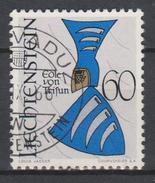 Liechtenstein Mi 467 Coat Of Arms - Nobles Of Trisun - 1966