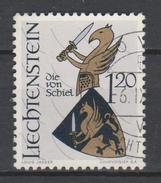 Liechtenstein Mi 468 Coat Of Arms - Men Of Schiel - 1966