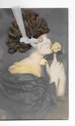 """Fantaisie - Femme Avec Vrais Cheveux - """"SmB"""" - Circulé - Voir 2 Scans - Femmes"""