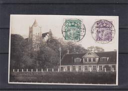 Lettonie - Carte Postale De 1927 - Oblit Aizpute - Exp Vers Breedene En Belgique - Lettonie