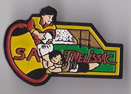 PIN´S THEME RUGBY CLUB DE TRELISSAC  EN DORDOOGNE - Rugby
