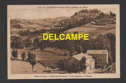 DD / 48 LOZÈRE / LE CHAMBON-LE-CHÂTEAU / VALLÉE DE L'ANCE / MOULIN DU PROVENÇAL - USINE ELECTRIQUE ET CHÂTEAU - France