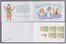 Czech Republic - Tcheque 2002 Yvert C311, Saint Nicholas - Booklet - MNH - Repubblica Ceca