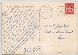 CONSTANCE Allemagne, POSTE AUX ARMEES - SP 69 594. - Marcophilie (Lettres)