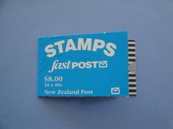 1993 Nouvelle Zélande - Yvert  C 1227a  ** Oiseaux Birds Falcon Scott  928 D  Michel  1283 X 10  SG SB 63 Fast Post - Carnets
