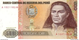 PÉROU 500 INTIS 1987 P-134b NEUF [ PE134b ] - Pérou