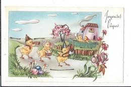 16797 - Joyeuses Pâques Poussins Orchestre - Pâques
