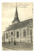 27 SAINT AUBIN D ESCROVILLE EGLISE EURE - Saint-Aubin-d'Ecrosville