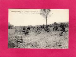 GUERRE 1914-15, Camp De Coètquidam, La Casse De Pierres, Animée, (J. C.) - Guerre 1914-18