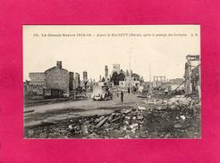 GUERRE 1914-15, Aspect De Maurupt, Après Le Passage Des Barbares, Animée, (A. Richard) - War 1914-18