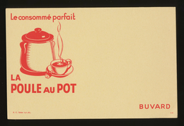 Buvard  -  LA POULE AU POT - Consommé Parfait - Sopas & Salsas