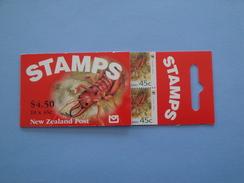 1993 Nouvelle Zélande - Yvert  C 1238 A  ** WWF Insecte Scott Xx  Michel  MH 1294  SG SB 64 - Carnets