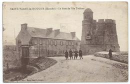 50 - Saint Vaast La Hougue - Le Fort De L'Ile Tatihou - Animé - Saint Vaast La Hougue