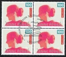 BLOC DE 4 OBLITERE 1er/J.3.9.2010. C/.S.B.K. Nr:1367. Y&TELLIER Nr:2100. MICHEL Nr:2173. - Usados