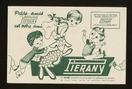 Buvard  -  PIENARY - Spécialiste Du Jersey Pour Enfant - Buvards, Protège-cahiers Illustrés