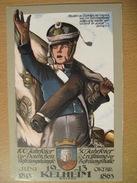 Bayern Allemagne 1913. Entier Postal Illustre 100 Jahrfeier Deutsche Befreiungskamfe 1913 Kelheim Liberation Covenants - Deutschland