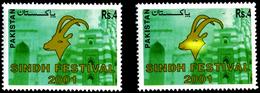 CELEBRATIONS-SINDH FESTIVAL-PAKISTAN-2001-ERROR-COLOR VARIETY-MNH-H1-290 - Other