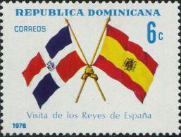 JA0517 Dominica 1976 Flag 1v MNH - Dominican Republic