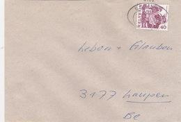 Brief  Mit Bahnhofsstempel (br0753) - Railway