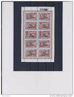 Belgie - Belgique 3848 Velletje Van 10 Postfris - Feuillet De 10 Timbres Neufs  -  Belgie - Congo 1908 - 2008 - Feuilles Complètes