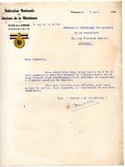 WW2 RESISTANCE F.F.I.  PERIGUEUX  MOUVEMENT DE RESISTANCE LIBERATION - Historical Documents