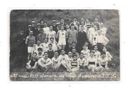 Carte Photo à Localiser : Mai 1919 , Réunion Des White Ouvriers Et A.S.Sx - Cartes Postales