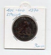 Spagna - 1870 - 10 Centesimi - 10 Grammi - (FDC4595) - [ 2] 1931-1939 : Repubblica