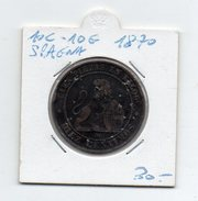 Spagna - 1870 - 10 Centesimi - 10 Grammi - (FDC4596) - Altri