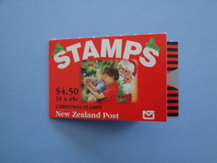 1994 Nouvelle Zélande - Yvert  C 1325  ** Noël  Christmas  Scott 1243 A  Michel MH 1376   SG SB Xx - Carnets