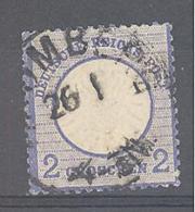 Reich  Michel #  20 Mit Plattenfehler XI - Deutschland