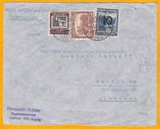 1939 - Colombie - Lettre Recommandée Par Hydravion De Bogota, Colombie  à Hambourg, Allemagne  - Affrt 75 Centavos - Colombia