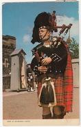 Piper At Edinburgh Castle  -  (Scotland) - Midlothian/ Edinburgh