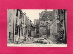 """GUERRE 1914-15, """"KULTUR"""" Allemande à Soissons, (J. Gourcier) - Guerre 1914-18"""