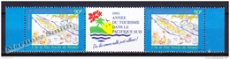 New Caledonia - Nouvelle Calédonie 1995 Airmail Yvert 327A International Year Of Tourism South Pacific - MNH - Airmail
