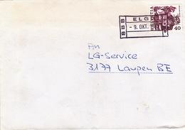 Brief Von SBB Elgg (Bahnhofsstempel) (br0758) - Ferrocarril
