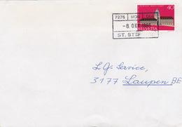 Brief Von MOB St Stephan (Bahnhofsstempel) (br0760) - Railway