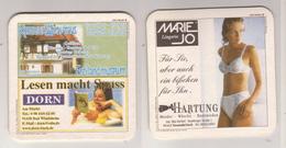Werbebierdeckel , Kommunbrauhaus , Freilandmuseum , Bad Winsheim - Hartung , Marie Jo - Sous-bocks