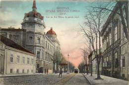 Serbie - Rue Du Roi Milan , Et Le Palais Royal - Serbia