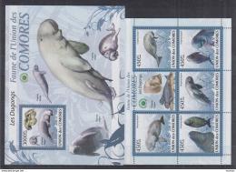 G39 Comoros - MNH - Art - Marine Life - Dogungs