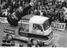Véhicule Renault Estafette Publicité Pelforth  -  Tour De France 1969   -  CPM - Camions & Poids Lourds