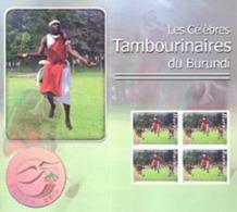 BURUNDI 2007  - Congrès Nairobi 2008 - Tambourinaires - BF