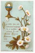 IMAGE PIEUSE HOLY CARD SANTINI HEILIG PRENTJE Bouasse N° 3467 Annéé 1887 : Que Votre Âme Soit Embaumée Longtemps De Ce - Images Religieuses