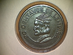 Honduras 20 Centavos 1973 - Honduras