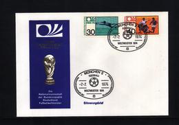 Deutschland / Germany 1974 World Football Champioship Germany - Germany Weltmeister - Coppa Del Mondo