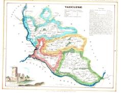 VAUCLUSE.feuille:319 X 250 Mm.19e - Cartes Géographiques