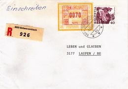 R-Brief Von Schwerzenbach (br0813) - Switzerland