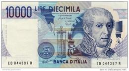 ITALY 10000 LIRE 1984 P-112b UNC SIGN. CIAMPI & SPEZIALI [ IT112b ] - [ 2] 1946-… : Républic