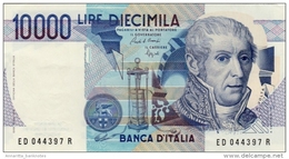 ITALY 10000 LIRE 1984 P-112b UNC SIGN. CIAMPI & SPEZIALI [ IT112b ] - [ 2] 1946-… : Republiek